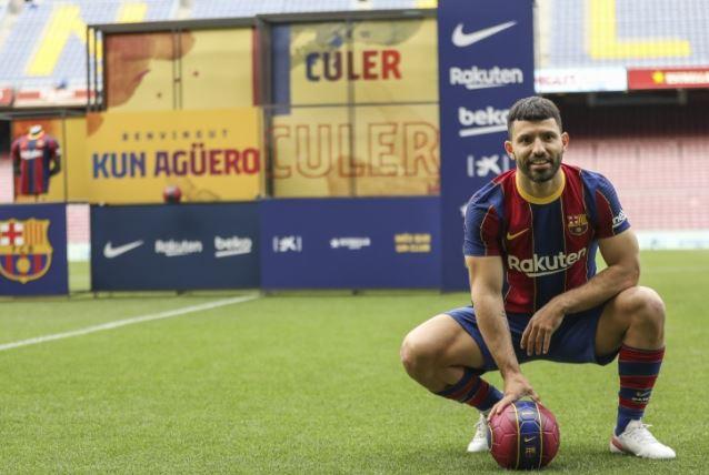 【西甲】88体育足球:阿圭罗确诊为小腿内侧肌腱断裂,将缺席8~10周